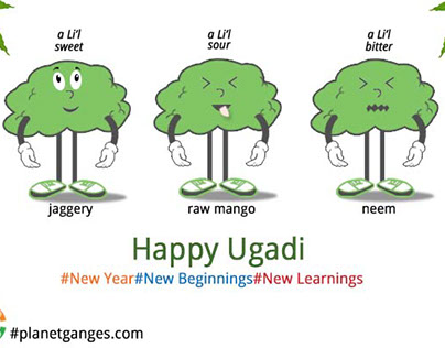 New year-New Beginnings-New Learnings Happy Ugadi