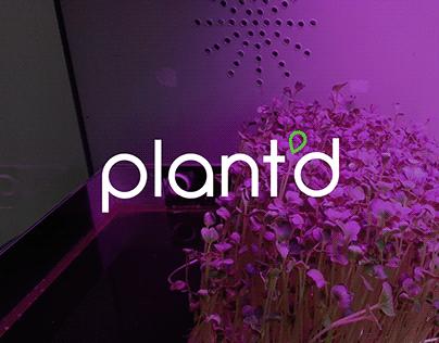 Plant'd | Branding & Visual Identity