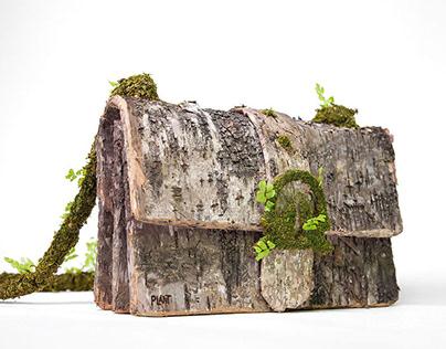 Nature Sculpture Hand Bag Monsieur Plant