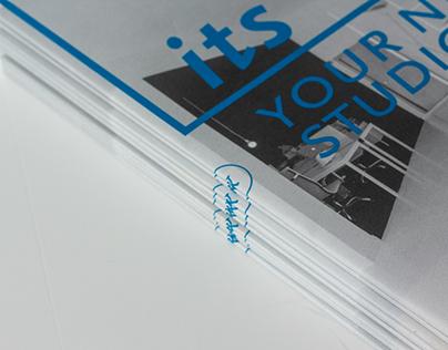 Ivo Tavares Studio, brochura.