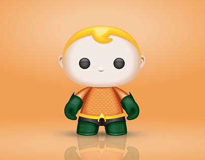 3D ART - AQUAMAN