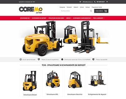 Coremo - forklift company