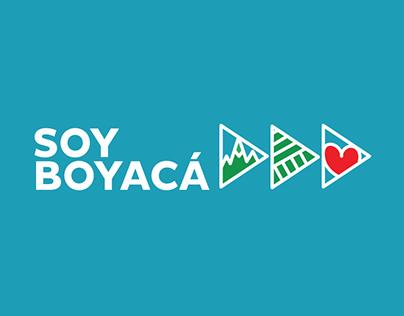Soy Boyacá (I am Boyacá) Region Brand