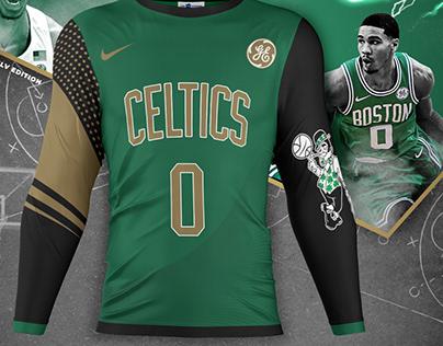 Boston Celtics Long Sleeve Kit