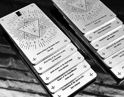 Develop Denver Illuminati Conference Badges