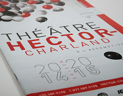 Brochure 2014-2015 Théâtre Hector-Charland