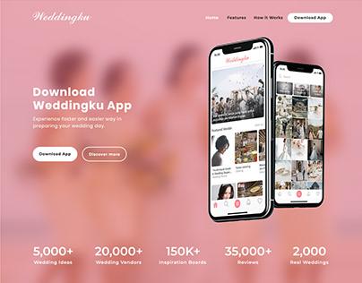 Weddingku App Minisite