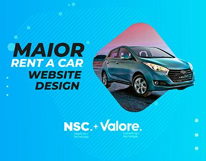 Maior Rent A Car - Website