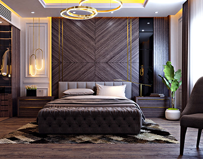 master bed room in new cairo