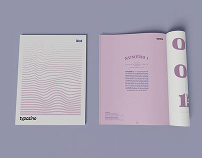 Typozine   Issue 01