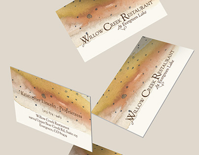 Willow Creek Restaurant Branding