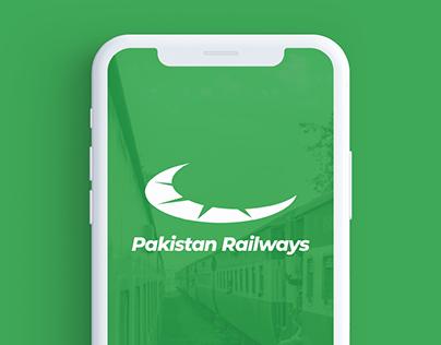 Pakistan Railways App Concept