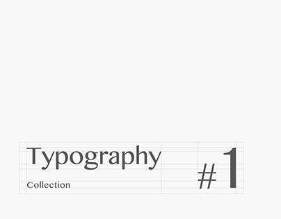 TypographyCollection #1