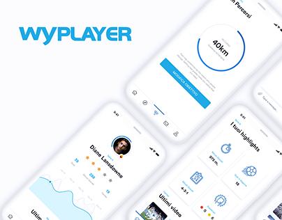 Wyplayer - App UI