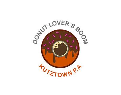 DONUT LOVER'S BOOM - LOGO DESIGN