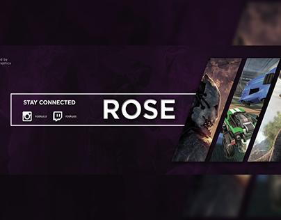 Rose - Twitter Banner