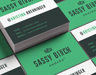 Sassy Birch Snacks - Identity Design