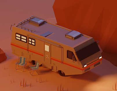 Low Poly - Breaking Bad