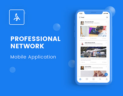 Professional Networking Mobile Application