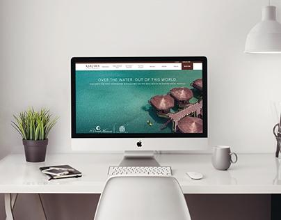 Palafitos Redesing Landing page