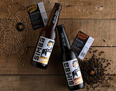 Simba Craft Beers - Packaging Design