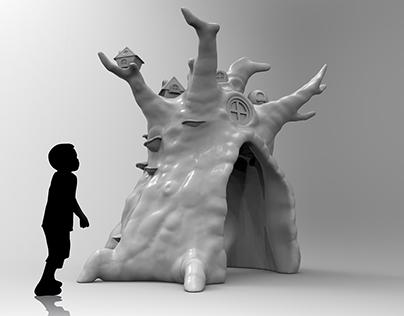 SHOPPI TIVOLI KINDERPARADIES - 3D OBJEKTE