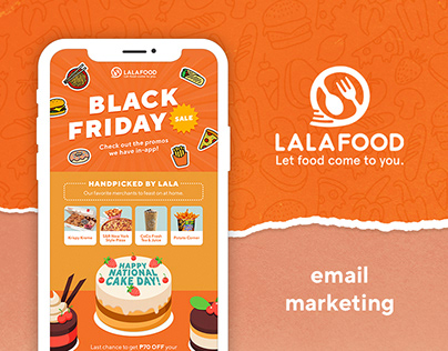 LalaFood Email Marketing