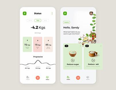 Health UI/UX Design