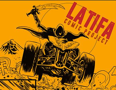 LATIFA (2017) / comic