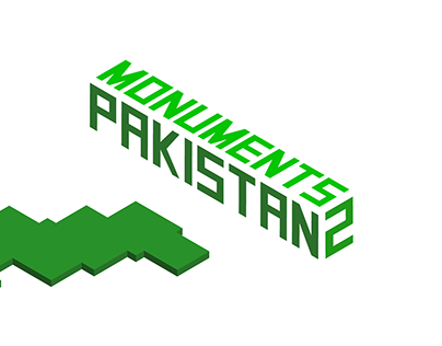 Isometric Monuments from Pakistan 2
