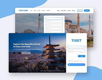 TIXET - Ticket Reservation Website