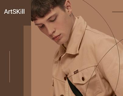 ArtSkill - (Fashion) - UI Design Concept