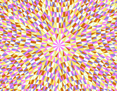 6 Free Circular Triangle Mosaic Patterns