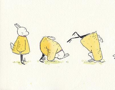 Rolling Bunny