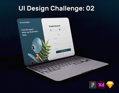 Ui Ux Design Challenge 02