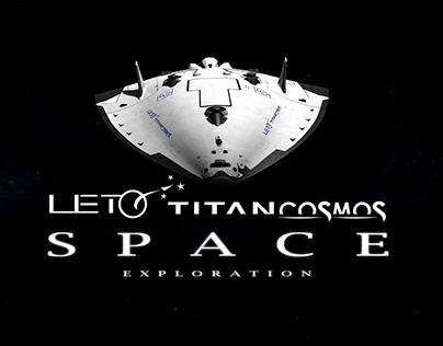 """The """"LETO TITAN COSMOS"""", Spaceship concept"""