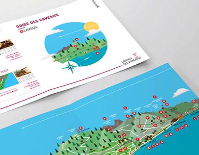 Guide des caveaux | Editorial design