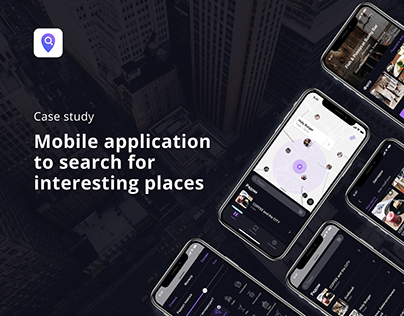 Mobile application to search for interesting places