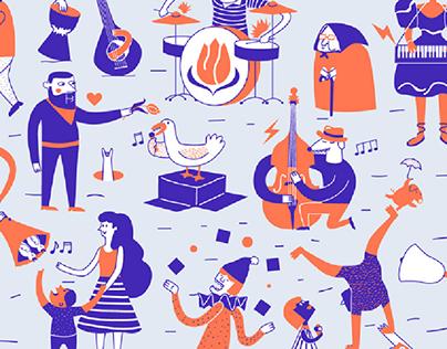 Concept: 20th Street Musician Festival - Gradic Fest