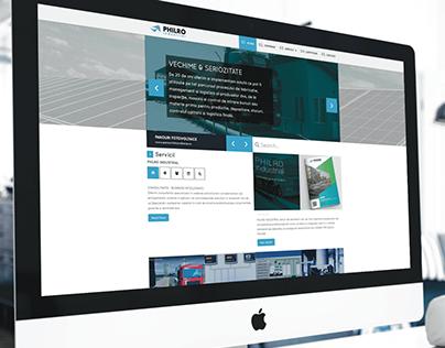 PHILRO - WEB design