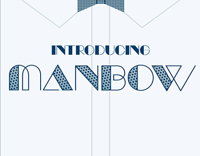 Free Font: Manbow