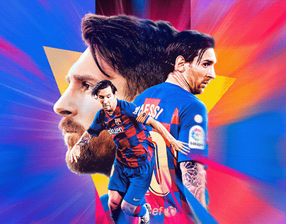 Lionel Messi 700 Goals Poster - FC Barcelona