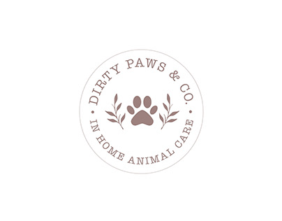 Dirty Paws & Co Logo