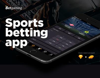 Betgaming - sports betting app