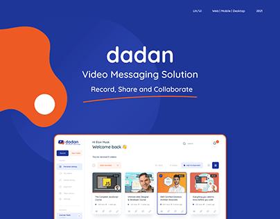 dadan - Video Messaging Application