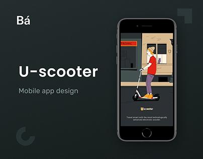 U-Scooter – Mobile App Design