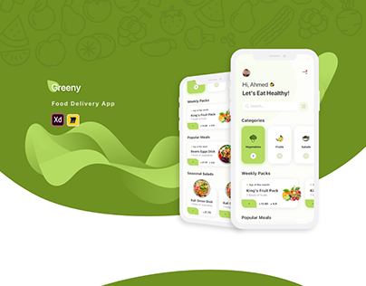 Greeny - Food Delivery App