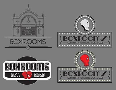 BoxRooms logo work