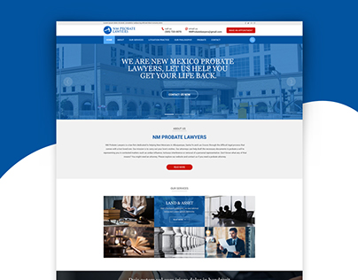 Real Estate, Website Template on Behance