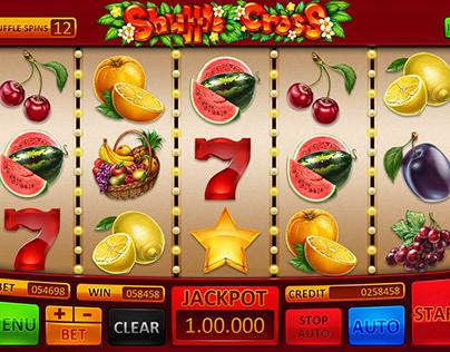 "Slot machine for SALE – ""Shuffle Cross"""